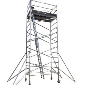 Aluminium Mobile Scaffold 6M – Double Width