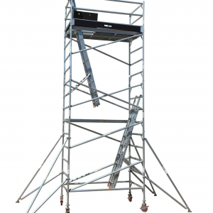 7M Aluminium Mobile Scaffold Tower – Double Width