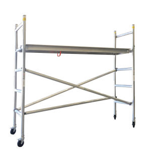 Aluminium Mobile Scaffold 2M – Long Single Width (N20)