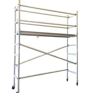 Aluminium Mobile Scaffold 3M – Long Single Width (N30)