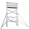 4M Aluminium Foldable Scaffold Mobile Tower – Single Width