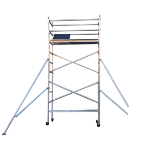 Aluminium Mobile Scaffold 4M – Single Width (S40)