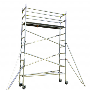 Aluminium Mobile Scaffold 4M – Long Single Width (N40)