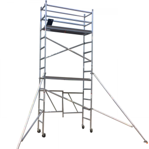 Aluminium Mobile Foldable Scaffold 5M – Single Width (F50)