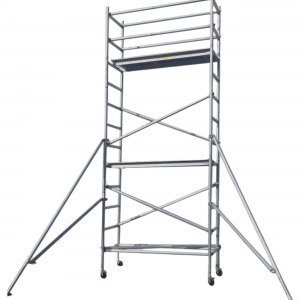Aluminium Mobile Scaffold 5M – Single Width (S50)