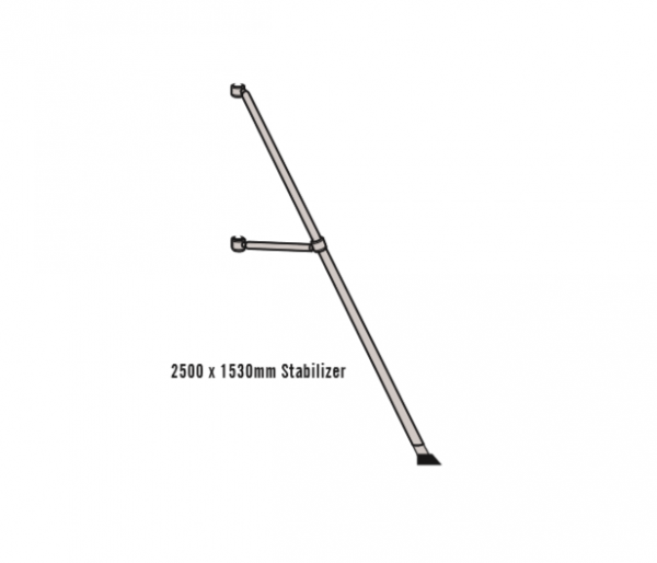 Mobile Scaffold – Stabilizers 2500 x 1530