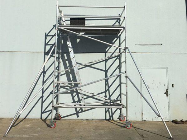 4M Aluminium Scaffold Mobile Tower – Double Width